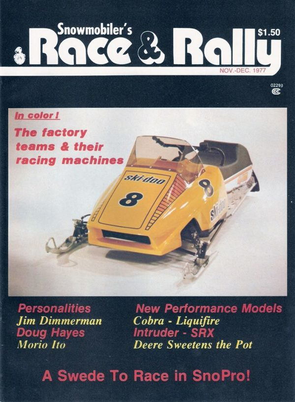 Nov/Dec 1977 Race & Rally Magazine