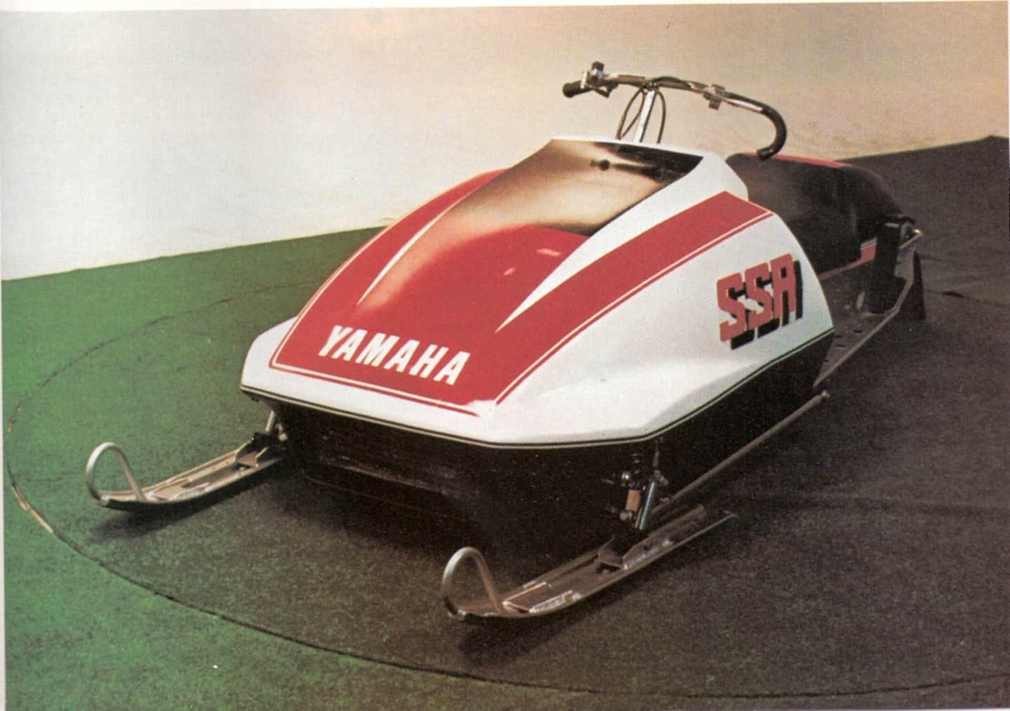 1978 Yamaha SSR oval race sled