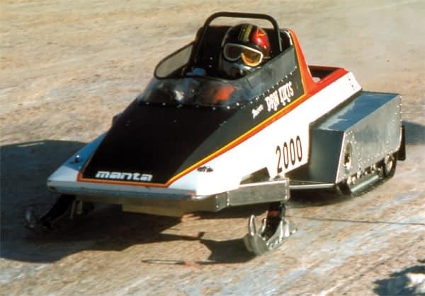 ARBE Manta Twin Track Sled