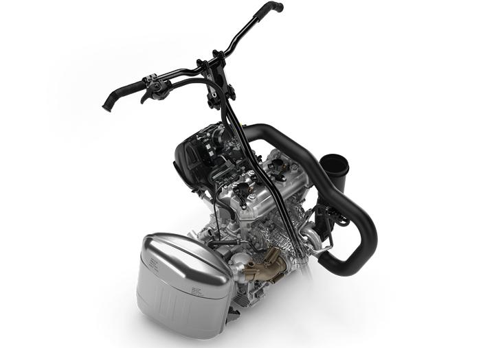 130 horsepower Rotax 900 ACE Turbo