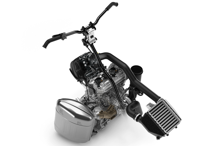 180 horsepower Rotax 900 ACE Turbo R