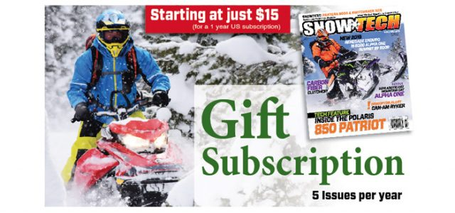 Last Minute Gift Idea!  SnowTech Magazine Gift Subscription