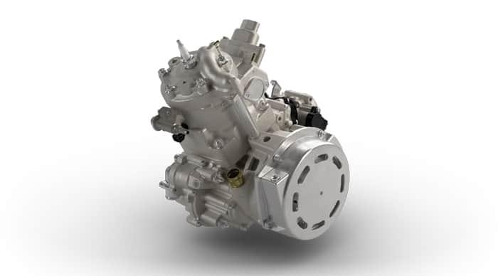 2021 Arctic Cat Blast 400 engine