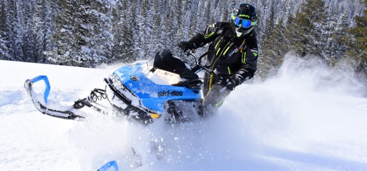 2019 Ski-Doo 600R E-TEC Summit – First Ride!