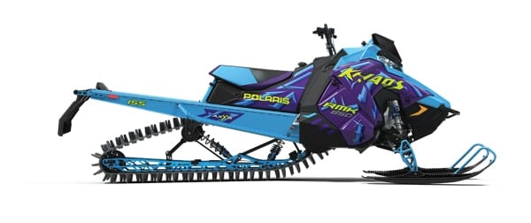 2020 Polaris 850 Khaos blue