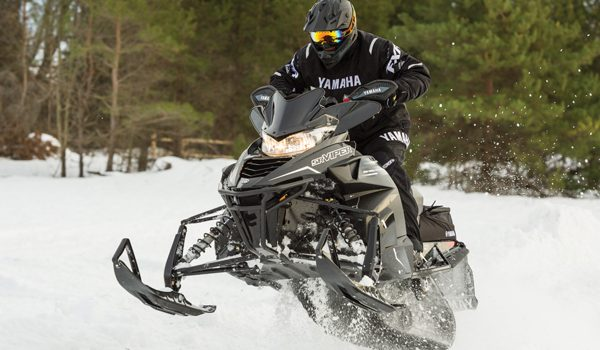 Arctic Cat Skis on Yamaha Sleds