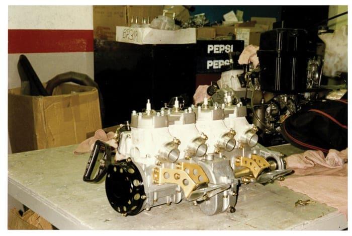 Tim Bender Yamaha Vmax-4 Formula III