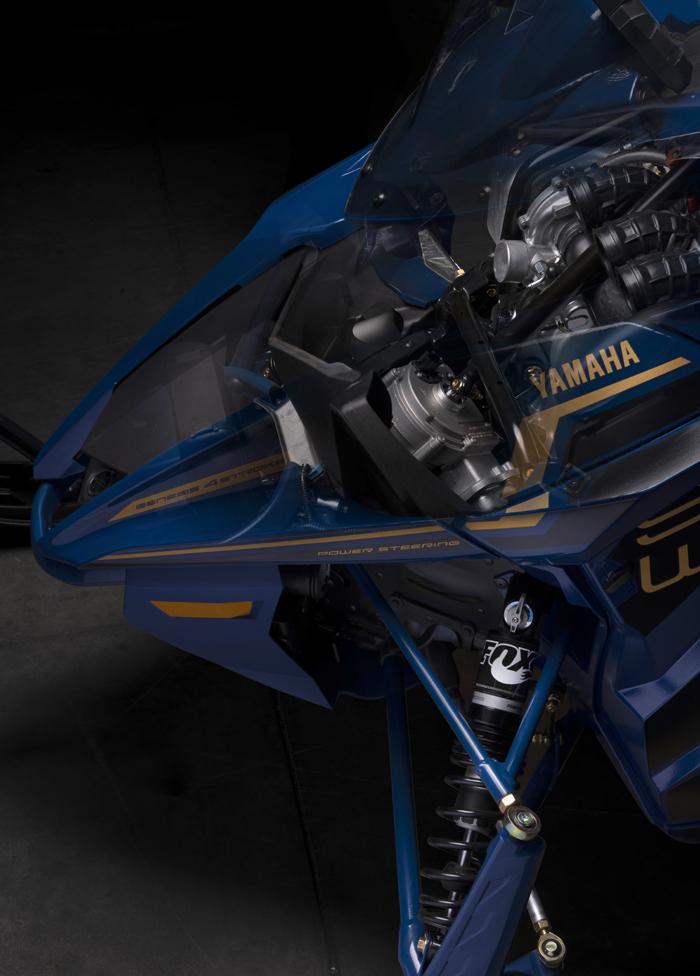 2022 Yamaha Electric Power Steering cutaway