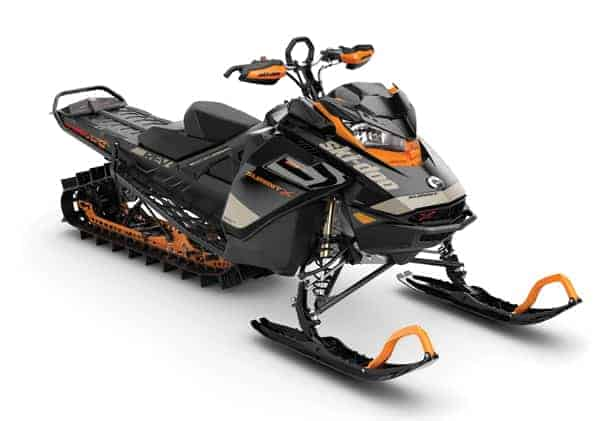 2020 Ski-Doo Summit Expert Orange and Black