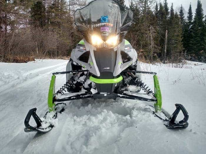 "2018 Arctic Cat ZR 8000 Sno Pro 137"""
