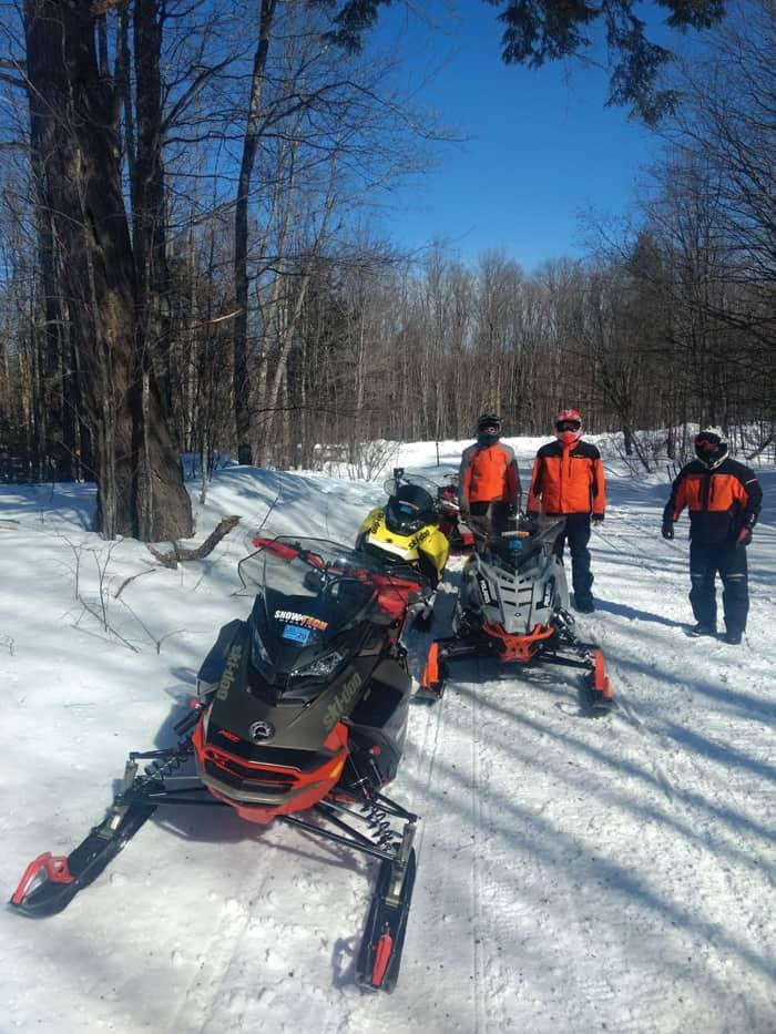 2021 Ski-Doo MX Z X-RS Guage