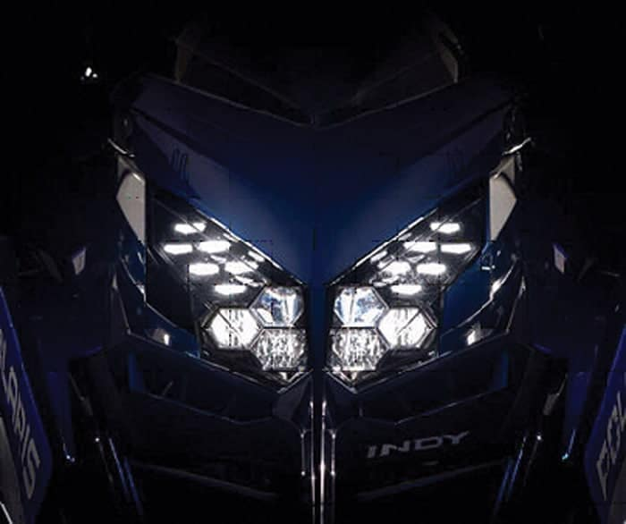 Nightblade headlight assembly Polaris 2021 Matryx