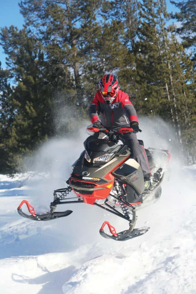 Ski-Doo 2021 MX Z X-RS Test Report RmotionX, R Motion X,