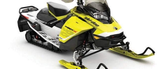 2017 Ski-Doo MX Z X 850 E-TEC II: First Ride!