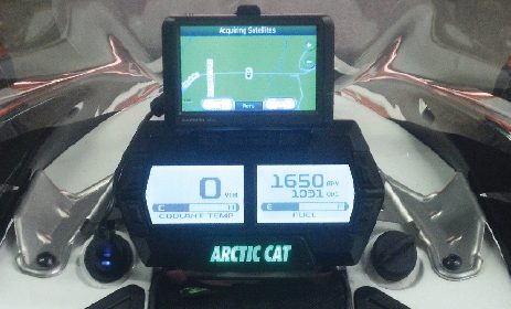 Poor man's Snowmobile GPS Solution