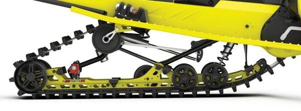 Ski-Doo's rMotion X Rear Suspension
