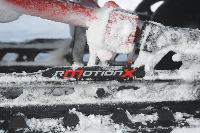 Ski-Doo 2021 MX Z X-RS Test Report RmotionX, R Motion X, KYB Shocks