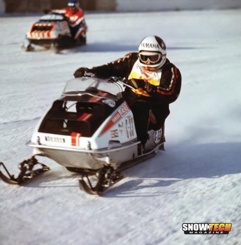 Mike Trapp 1971 Yamaha SR433 World Champion