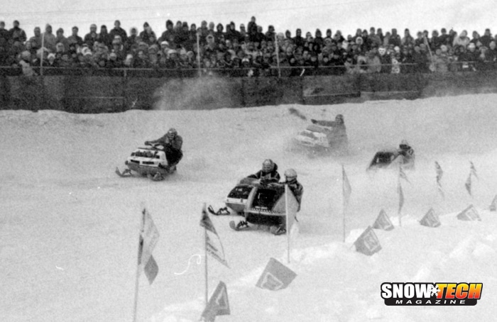 1971 World championship race eagle river mike trapp yvonne duhammel