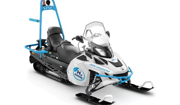 BRP-Rotax Leads Project  for Zero-Carbon Hydrogen Powered Snowmobiles