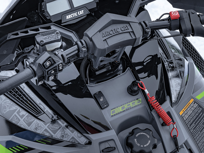 2022 Arctic Cat ZR 9000 Thundercat with Electronic Power Steering (EPS)