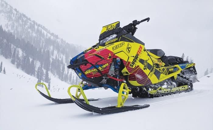 "Polaris PRO-RMK 850 163"" Project Sled"