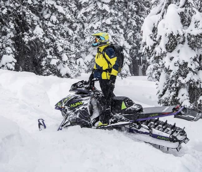 2019 Arctic Cat Alpha One Monorail suspension