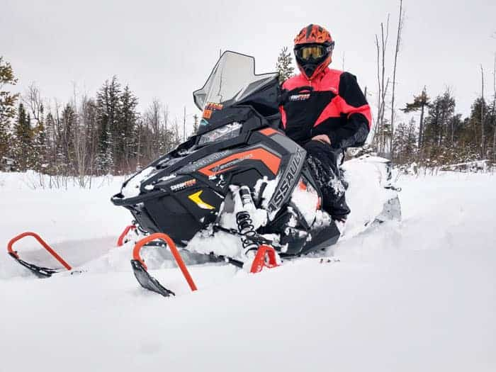 "2019 Polaris 850 Switchback Assault 144"" SnowTech Project Sled"