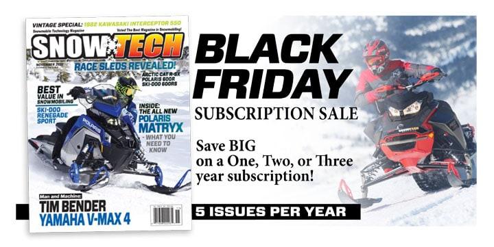 SnowTech Magazine subscription black friday sale
