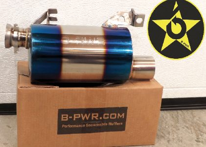 "Stainless Steel ""Blue"" Mufflers"