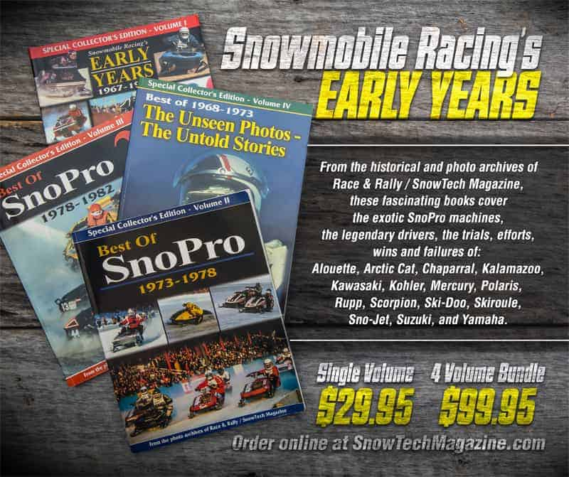 Snowmobile Racing's Early Years