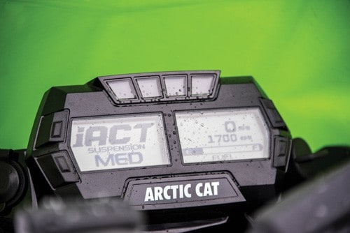 2019 Arctic Cat iACT suspension