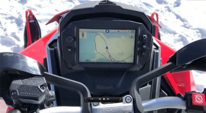 2021 Polaris 7S Touch Screen Display