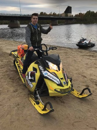 snowmobile water record