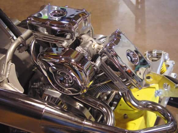 V-Twin by S&S Cycle in the 2003 BLADE OutLaw