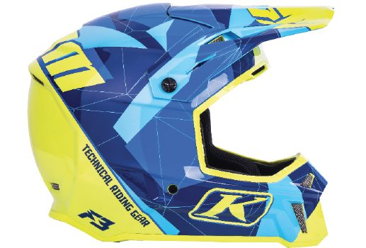 KLIM's New F3 Helmet