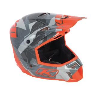 F3 Helmet orange