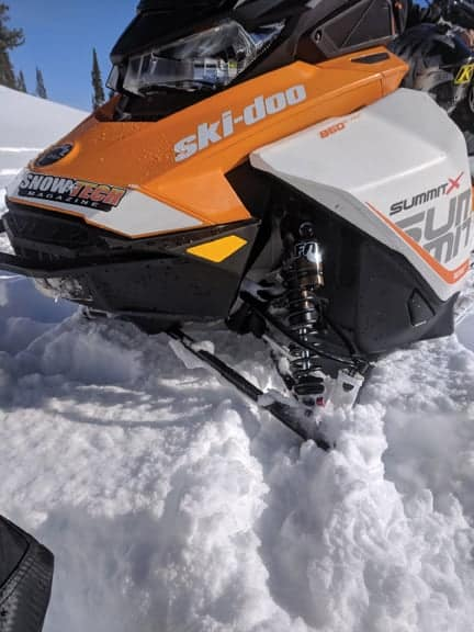 FOX 1.5 ZERO QS3-R Ski-Doo Summit