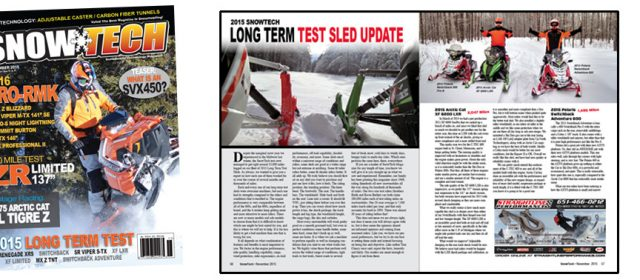 November 2015 Issue of SnowTech