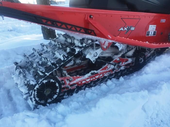 Indy XC 850 1200 mile test report SnowTech Pro CC Suspension