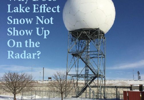 Why Does Lake Effect Snow Not Show Up On the Radar?