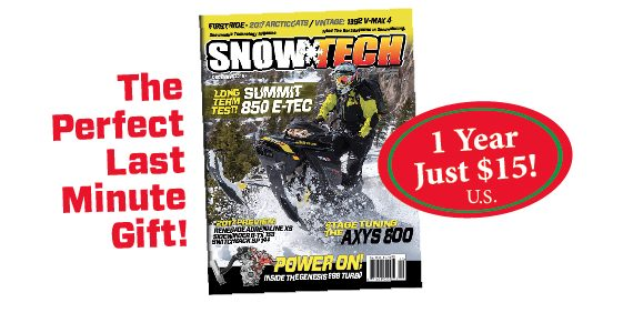 A SnowTech Magazine Gift Subscription: There's Still Time!