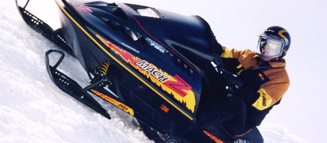1993 Ski-Doo MACH Z – Getting Back to the Muscle Sleds