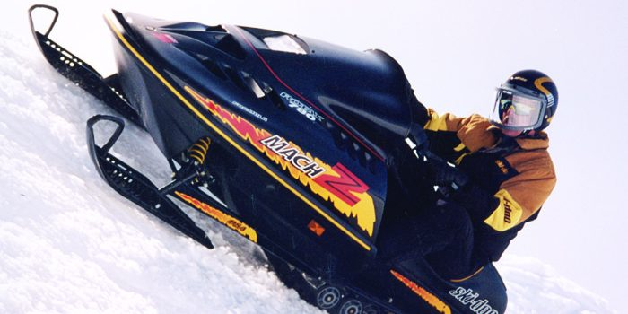 1993 Ski-Doo MACH Z - Getting Back to the Muscle Sleds