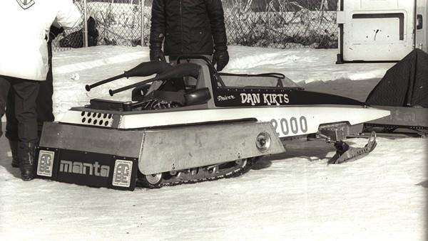 Dan Kirts Manta Twin Track race sled