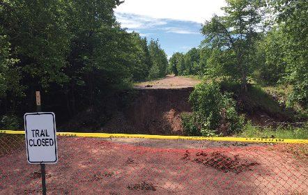 Michigan DNR Continues Restoration of Recreation Trails