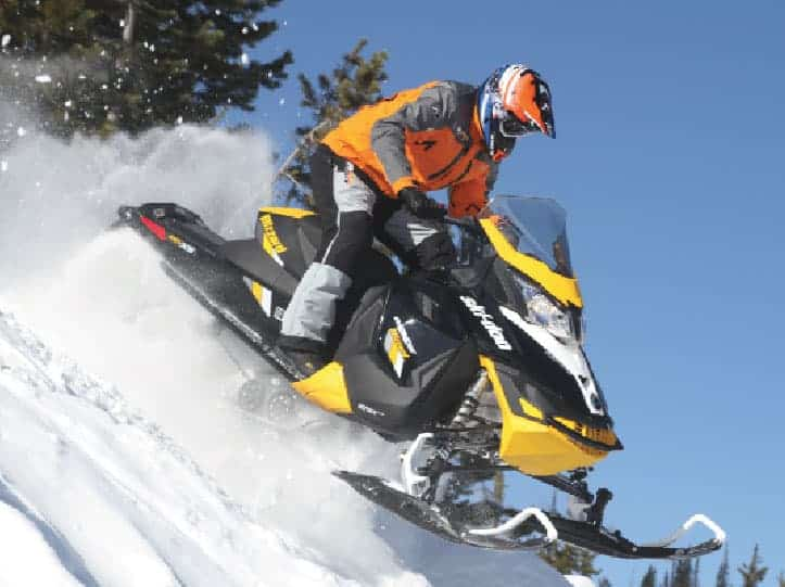 But Wait It Wasn T Too Many Years Ago That Ski Doo Offered Both Mx Z Adrenaline And Tnt Models As In Season Sleds Combined Them Into One