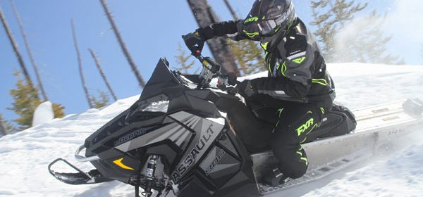 2017 Polaris Switchback Assault – FIRST RIDE!