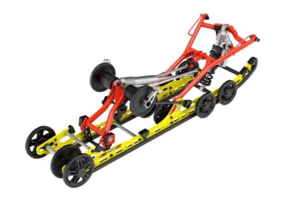 2021 Ski-Doo rMotion X rear suspension