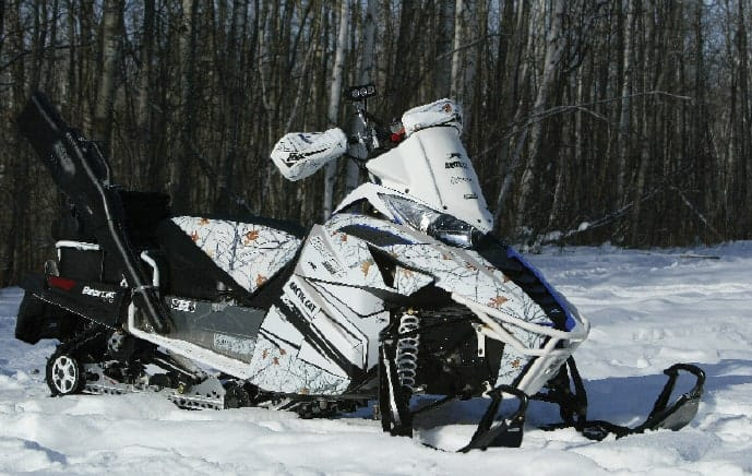 Arctic Cat Bearcat project sled - ROX COYOTE HUNTER